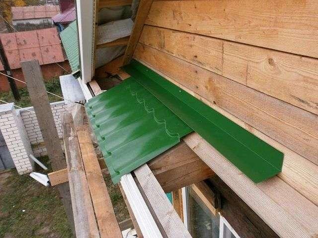 Как обшить крышу своими руками 100